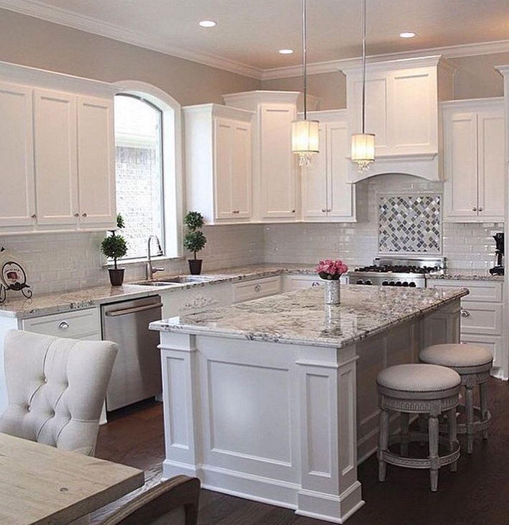 49 Fancy White Kitchen Design And Décor Ideas That Looks
