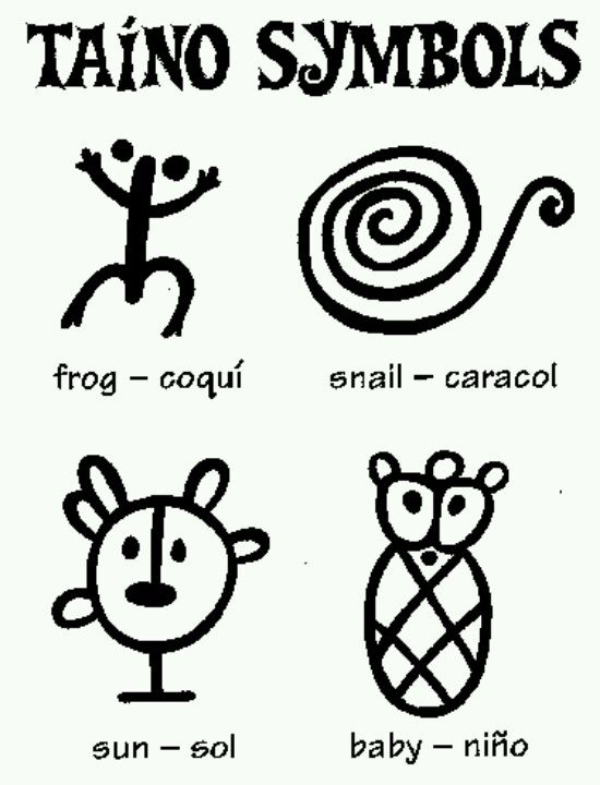 Taino Symbols Inked Up Pinterest Taino Symbols And Caribbean