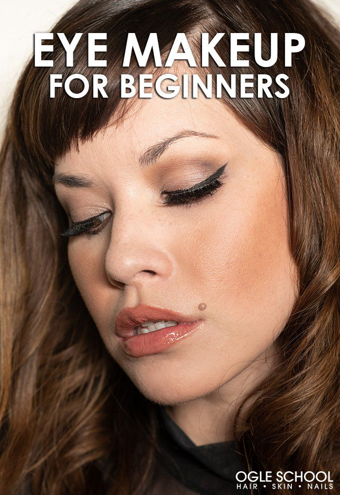 How To Do Eye Makeup For Beginners Eye makeup, Face