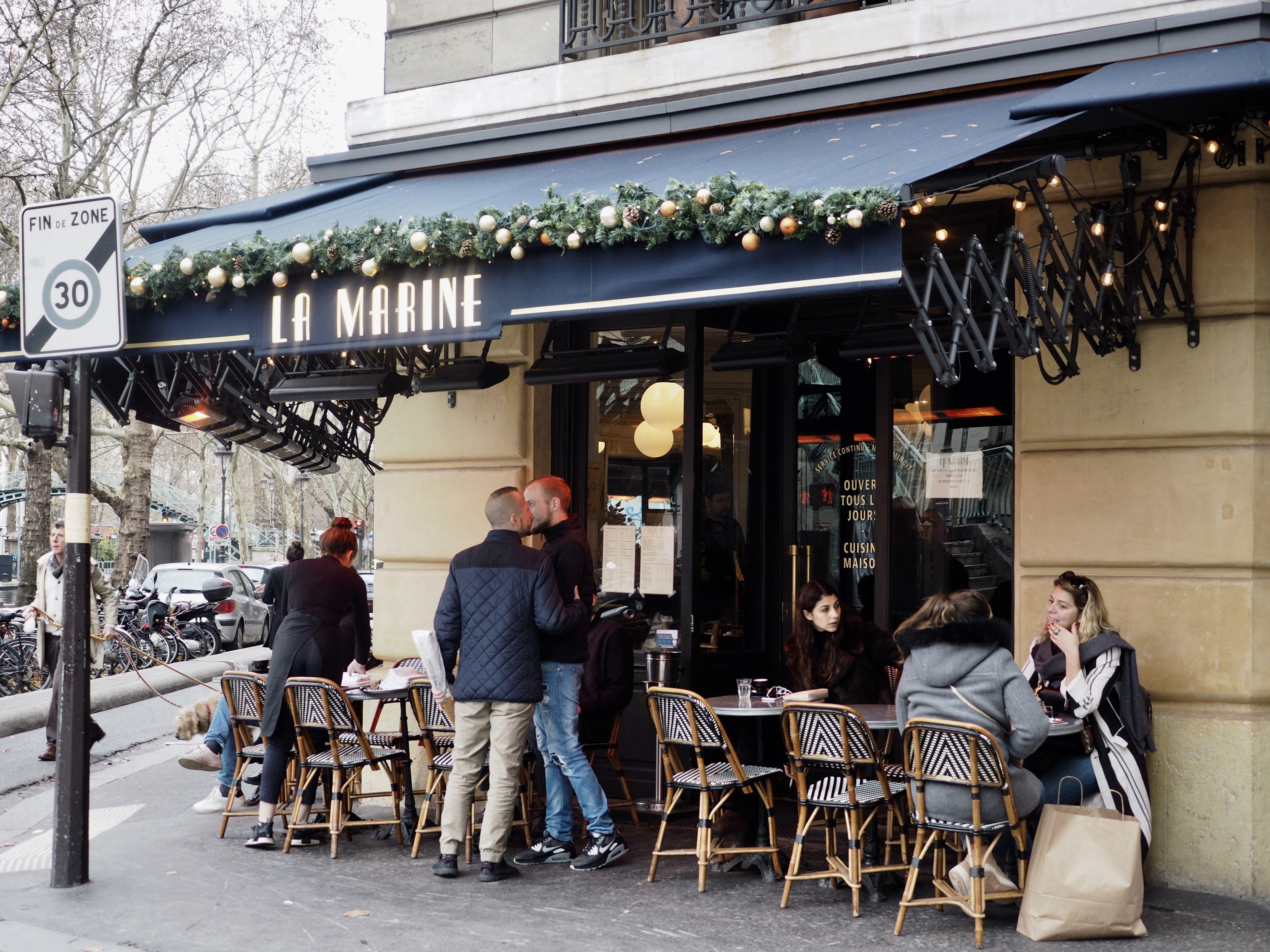La marine artisan restaurant french food