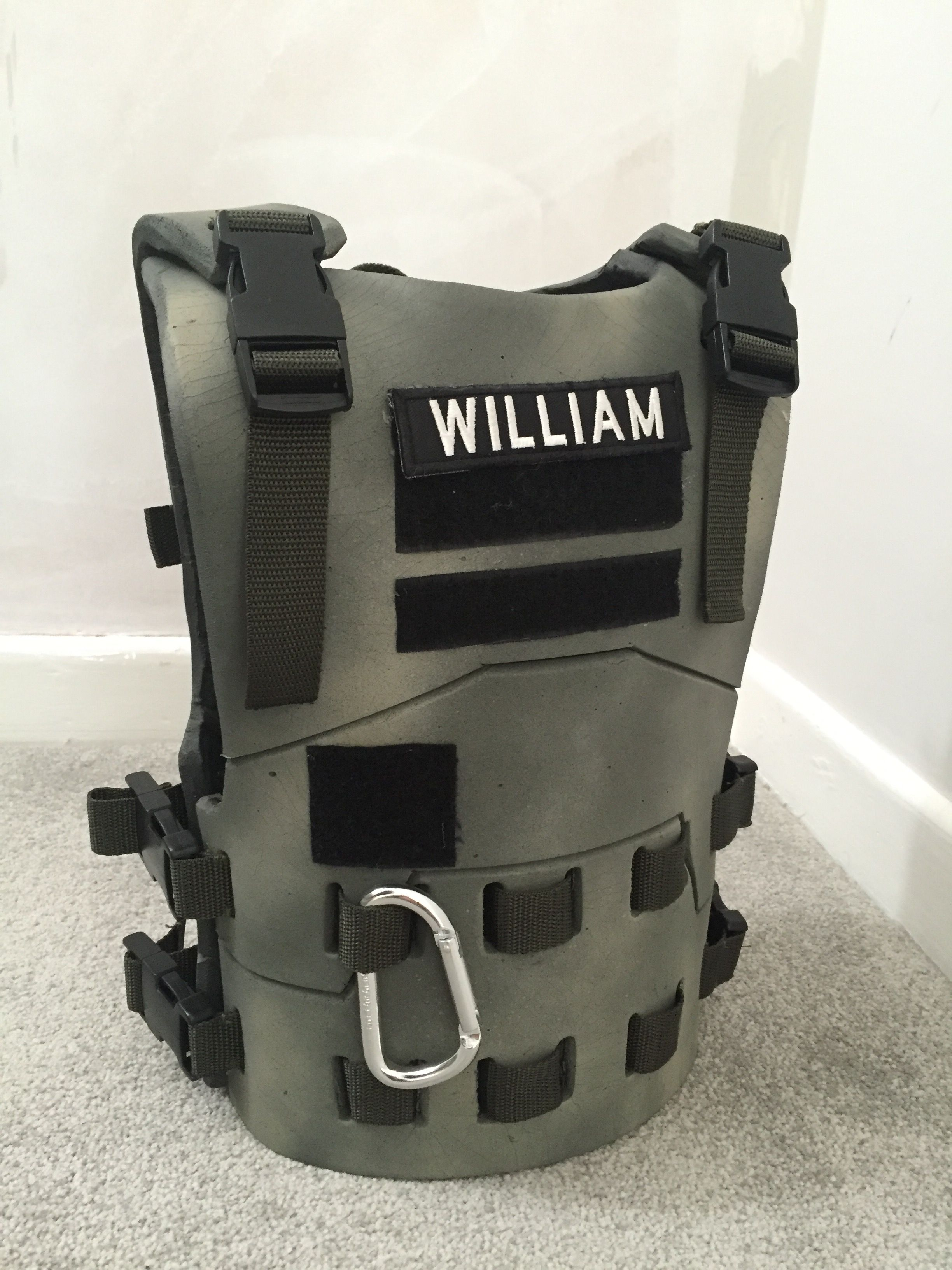 Kids tactical body armour made from Eva foam Nerf body armour for ...