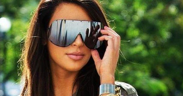 dca8e0b9e54 Rick Owens for Monday  750 Sunglasses Kim Kardashian