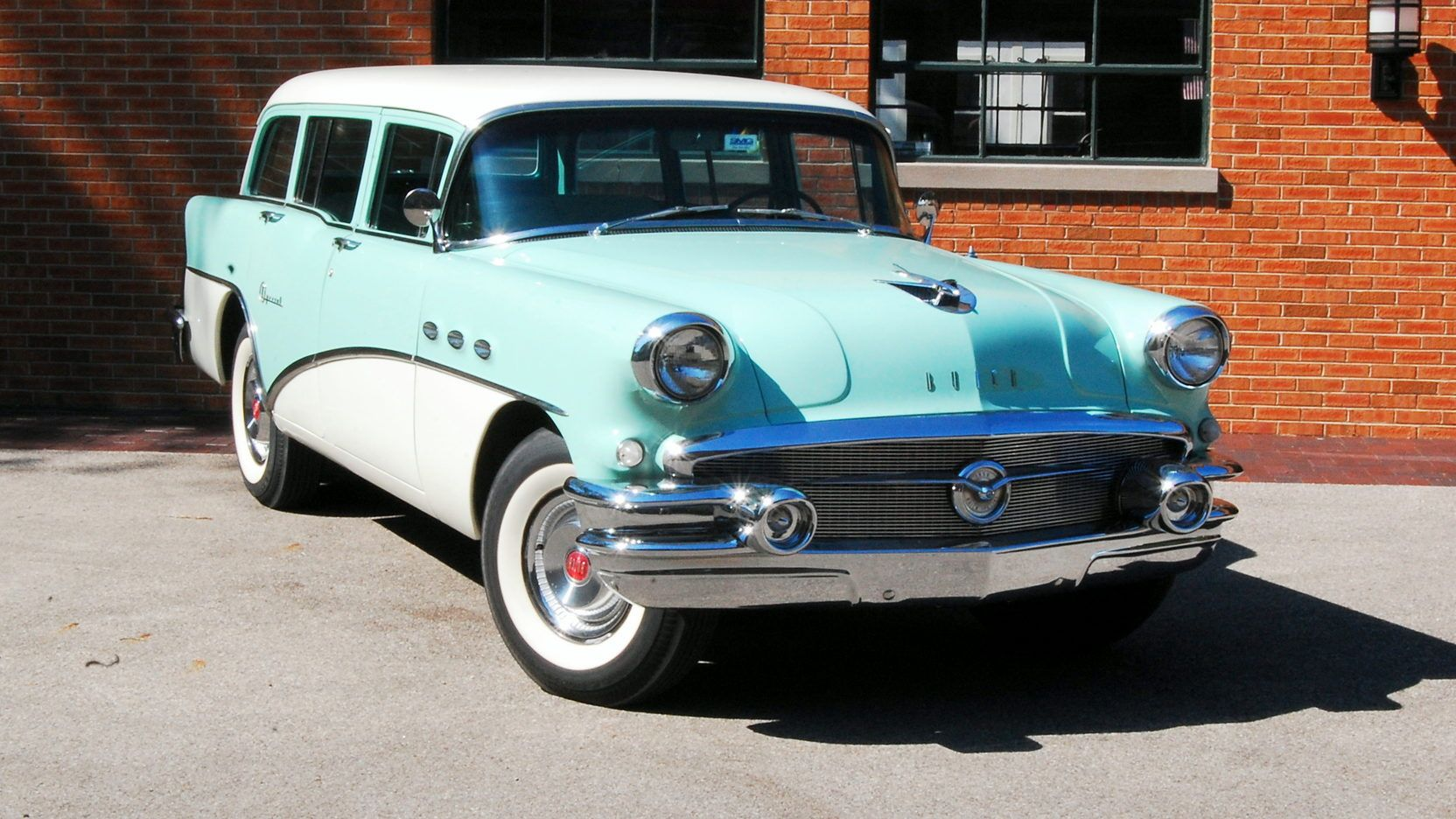 1956 buick special estate wagon presented as lot f991 at
