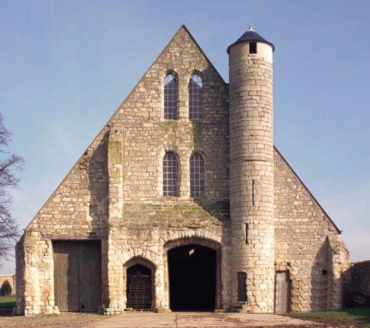 Grange c r ali re cistercienne de vaulerent val d 39 oise for Grange oise