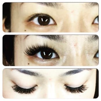 247691e2b06 3D Russian volume lashes are the best for Asian eyes - Yelp ...