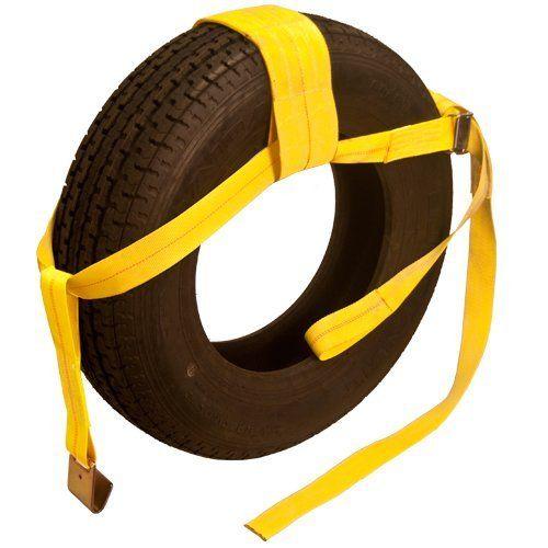 tow dolly straps tie  adjustablewheel net  dot     pair