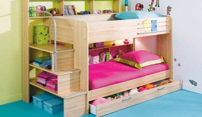 am nager une chambre pour trois enfants lits superpos s enfants lit superpos et conforama. Black Bedroom Furniture Sets. Home Design Ideas