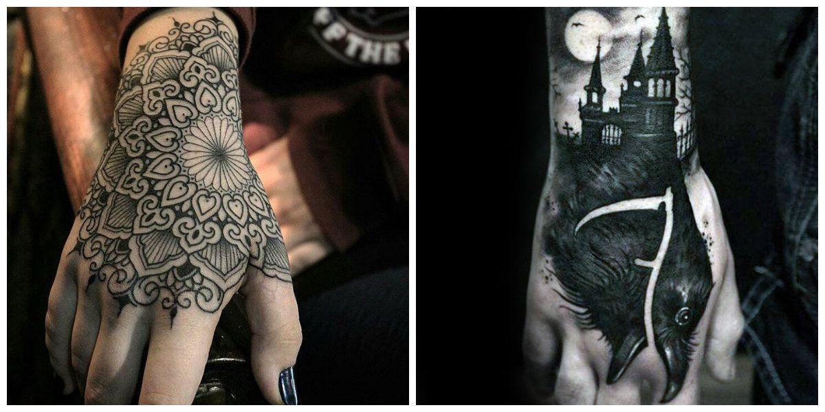 Tatuajes De Mano Esta Popular Entre Hombres Y Mujeres Modernos
