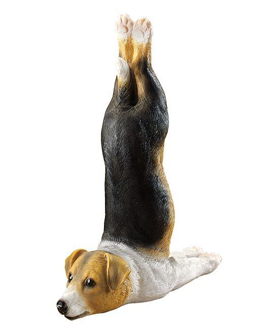Yoga Beagle Garden Statue Beagle Dog Puppy Beagle Dog Accessories