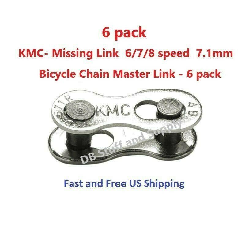 Sponsored Ebay Six 6 Kmc Missing Link 7 1mm 6 7 8 Speed Bicycle