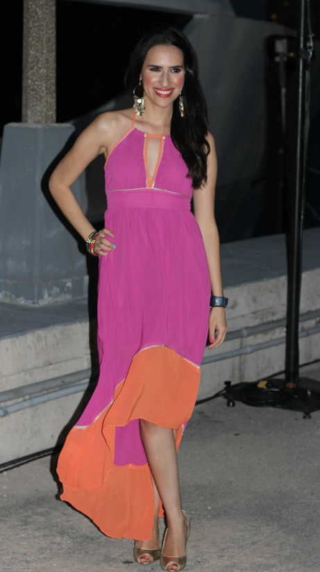 Beach Party Chic! What I wore to a yacht party. #fashion ...