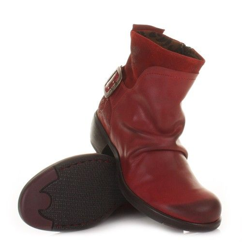 28953d0d9f76c Fly London Mel #Ankle #Boots - Red. £105   Products I Love   Boots ...