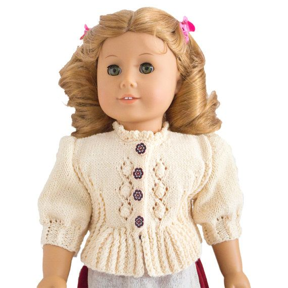 Doll Clothes Knitting Pattern 18 inch Doll Clothes von LelleModa ...
