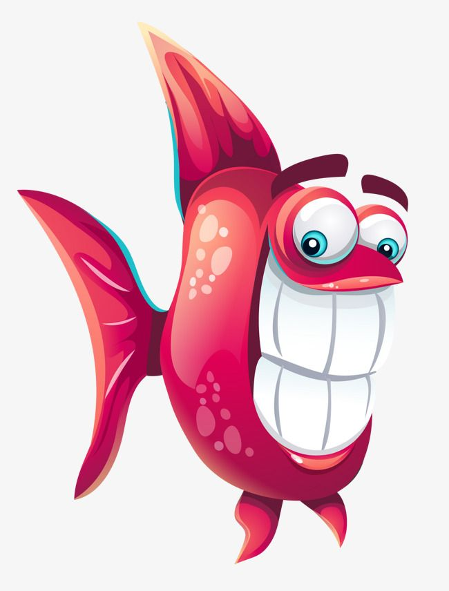 Funny Fish Fish Clipart Fish Red Png And Vector With Transparent Background For Free Download Fish Clipart Fishing Humor Cartoon Fish