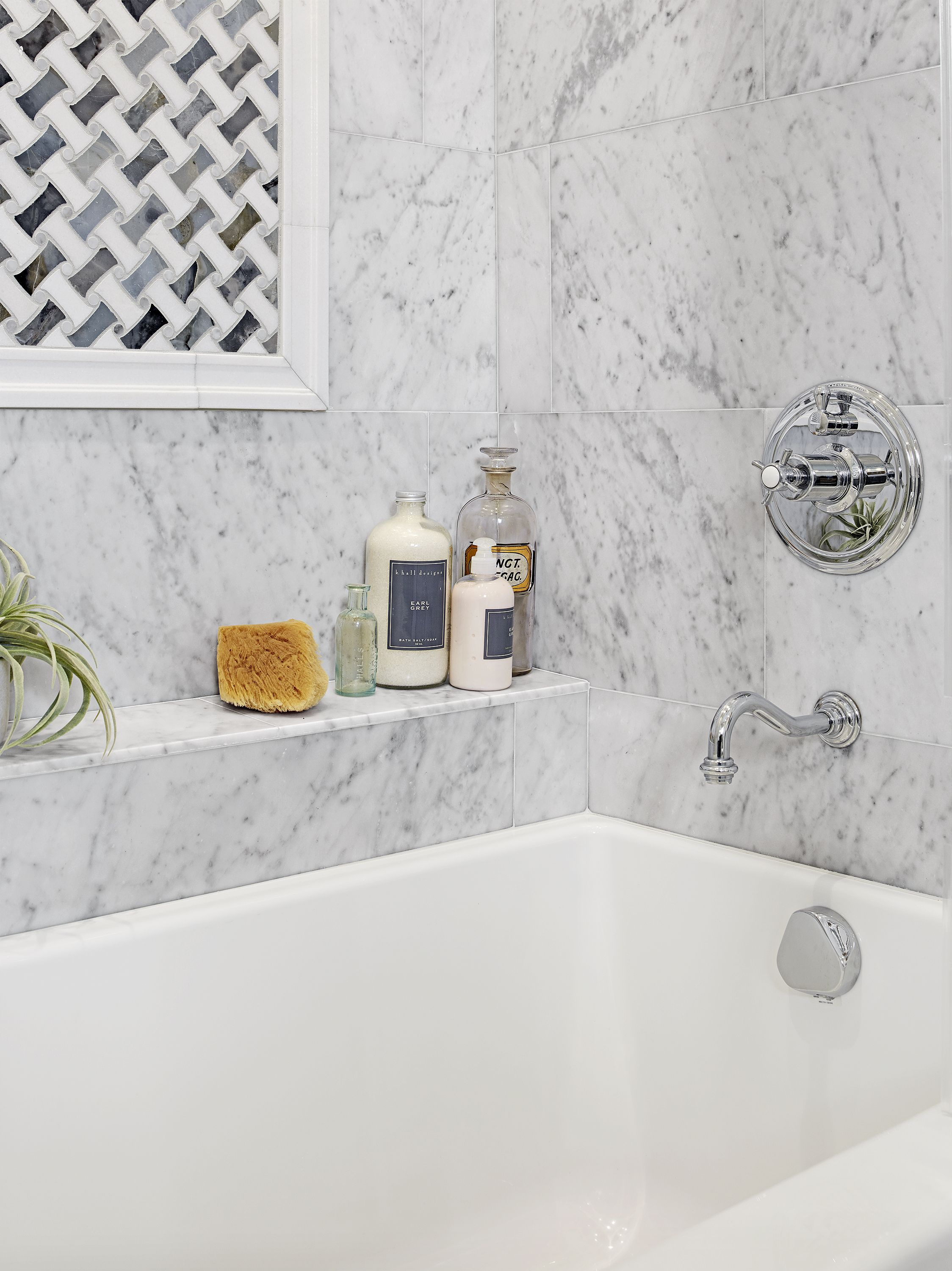 Before and After: A Small Bath Gets an Artful Upgrade | Pinterest ...