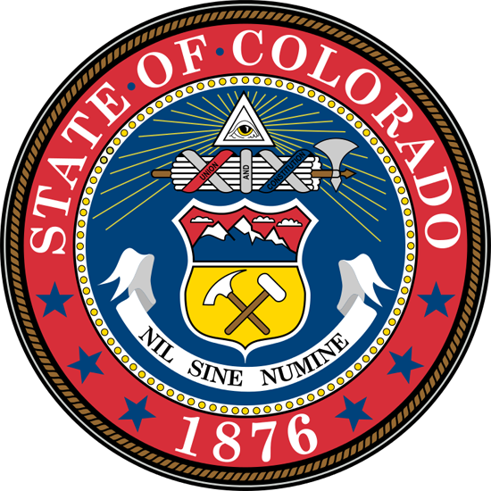 The Motto Appeared When Colorado S First Territorial Governor