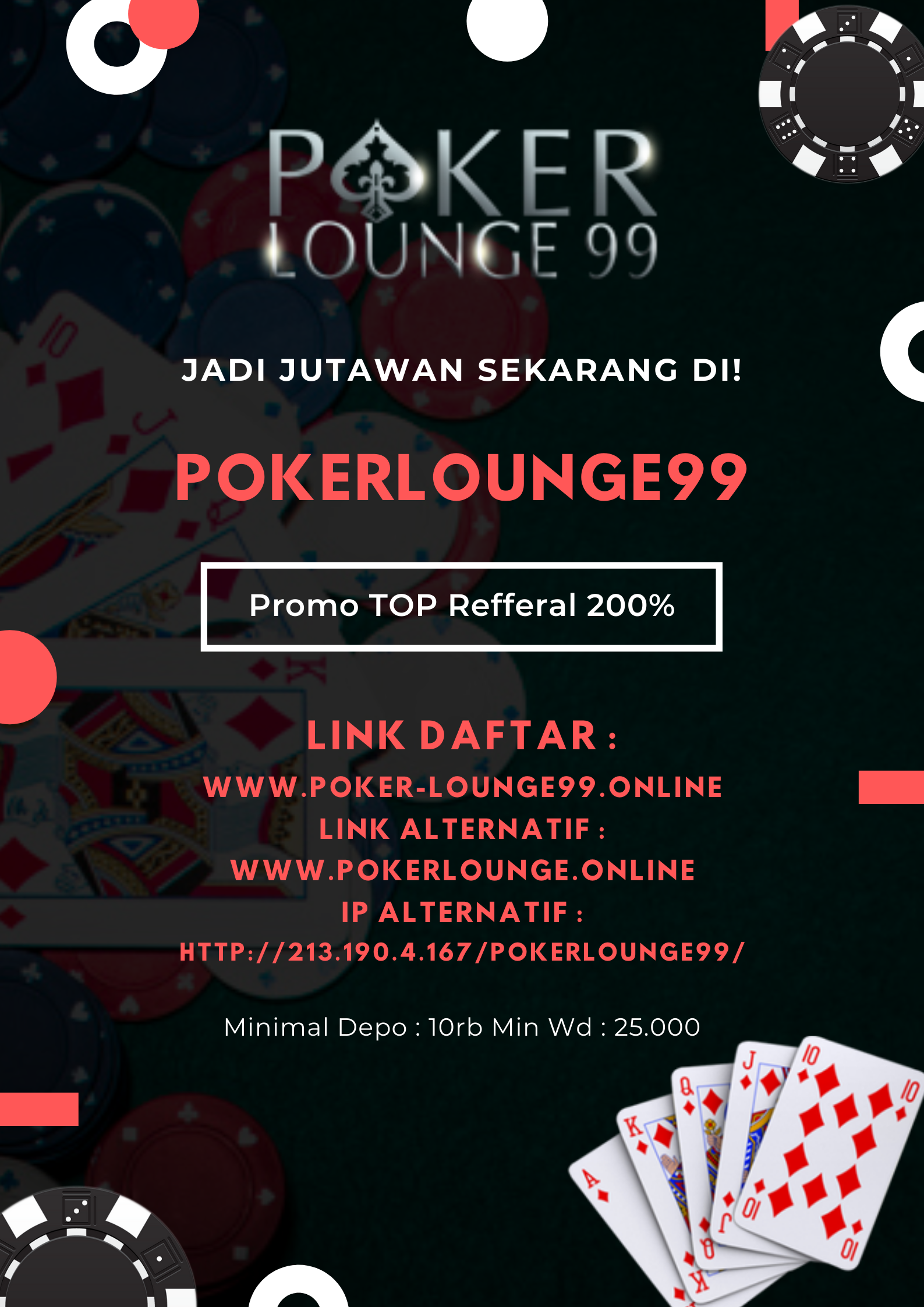 Pin Di Pokerlounge99
