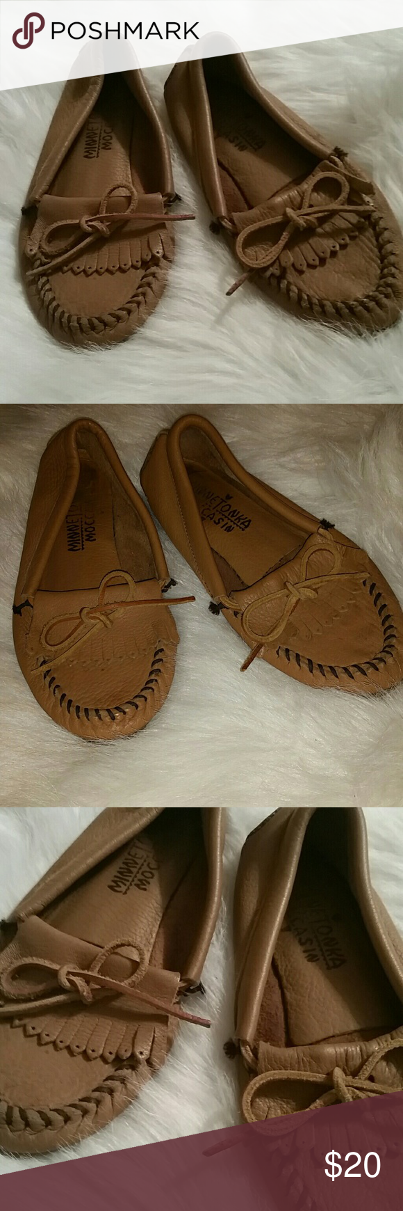 Minnetonka moccasins size 7 Minnetonka moccasins size 7 Minnetonka Shoes Moccasins