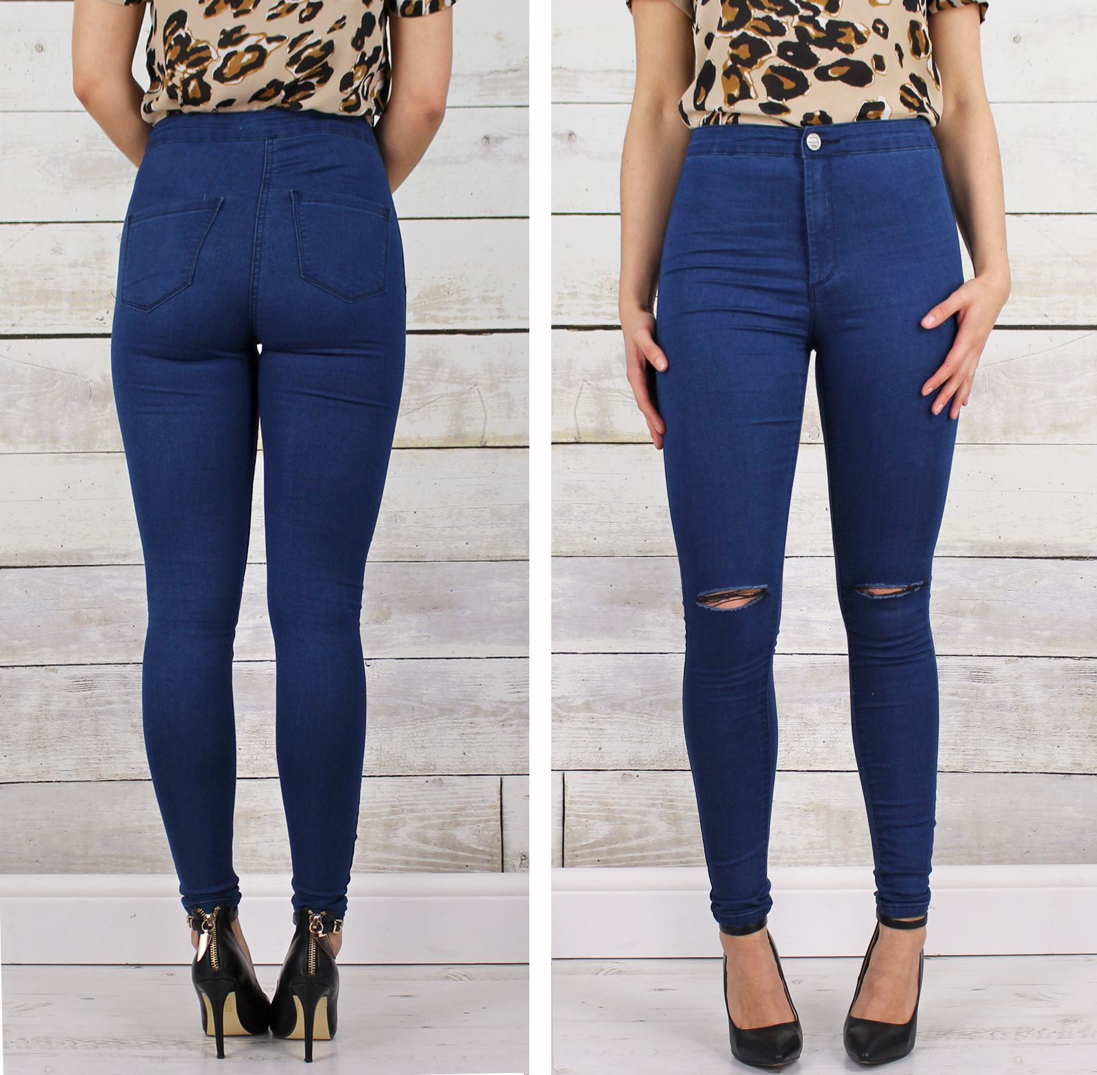 CORE - Highwaisted Ripped Skinny Jeans | S/S Capsule Wardrobe ...