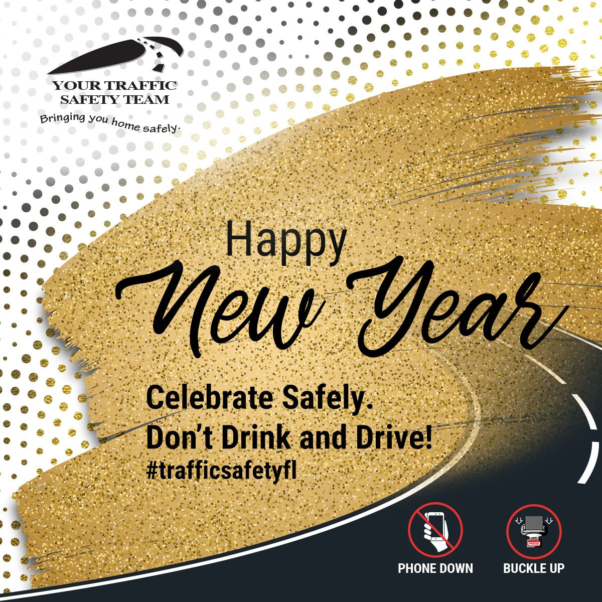 Happy new year from your community traffic safety team