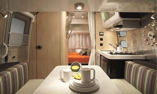 Airstream DWR Design Within Reach Travel Trailer interior