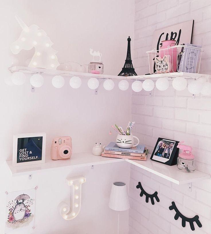 Photo of 57 Cozy Teen Girl Bedroom Design Trends for 2019 #bedroomdesignideas #girlsbedro…