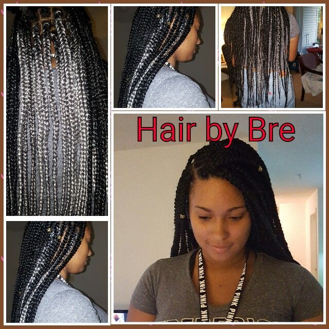Surprising Blue And Black Box Braids Hair By Me Pinterest Braids Blue Hairstyles For Men Maxibearus