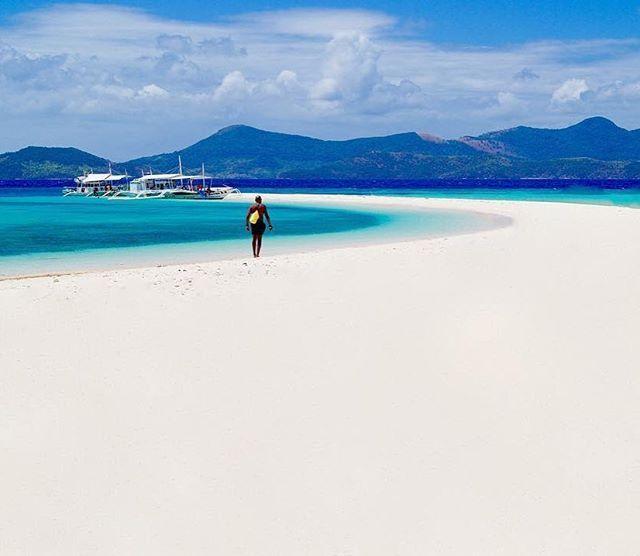 Beautiful sandbar in Coron, Palawan ---Photo by ...