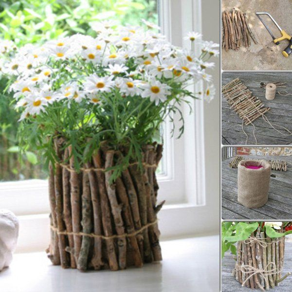 40 Diy Home Decor Ideas: 40+ DIY Flower Pot Ideas