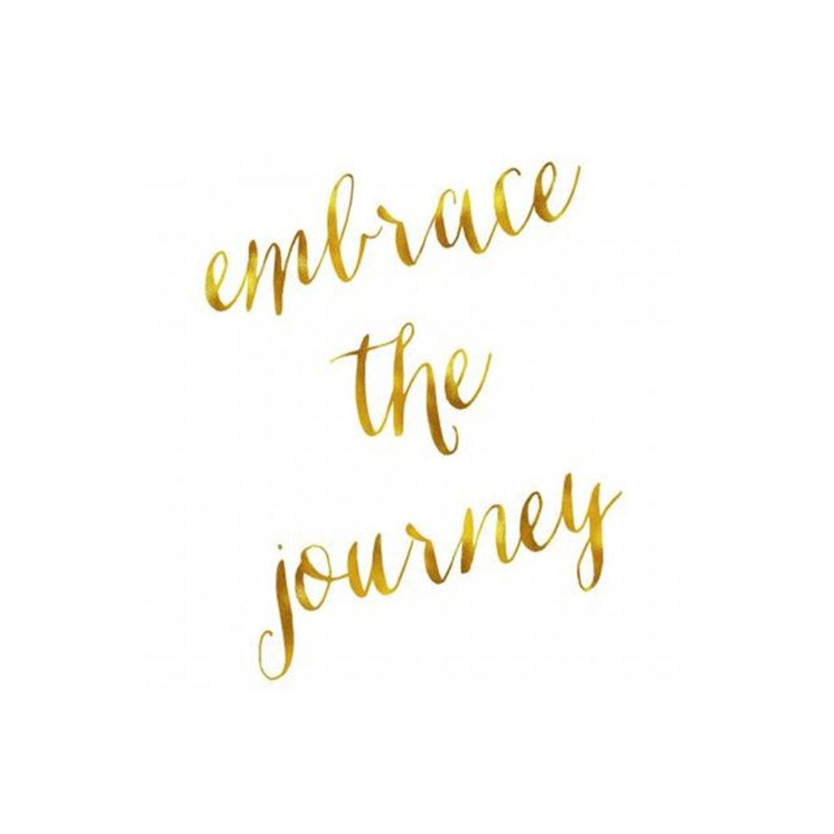 Tableau Quotes Embrace The Journey 60x60 Oceane Three Word Quotes Journey Quotes Tattoo Quotes About Life