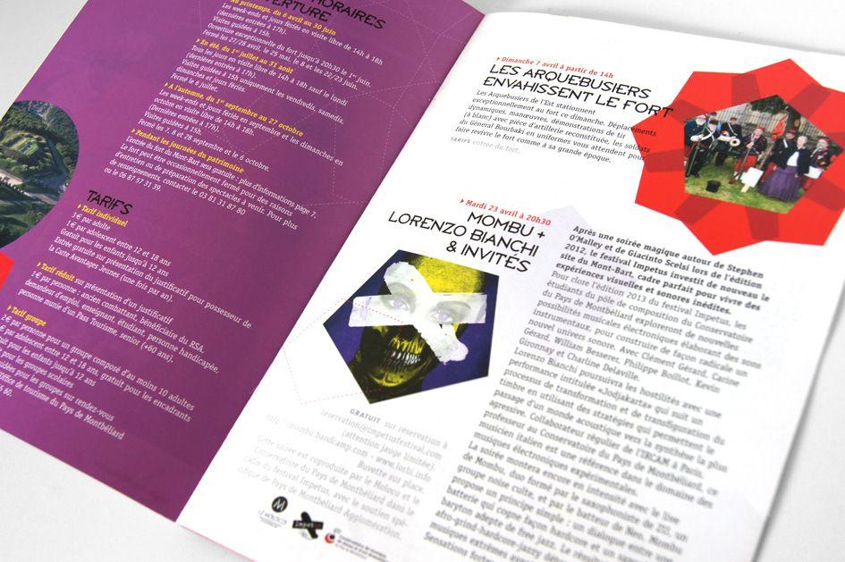 Programme Culturel Mont Bart Mise En Page De Magazine Mise En
