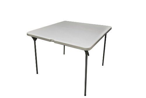 Coleman C11tm289 Square Blow Molded Plastic Folding Table 36 Inch By Coleman 67 80 Fold In Half Surface And H Folding Table Blow Molding Fold In Half Table