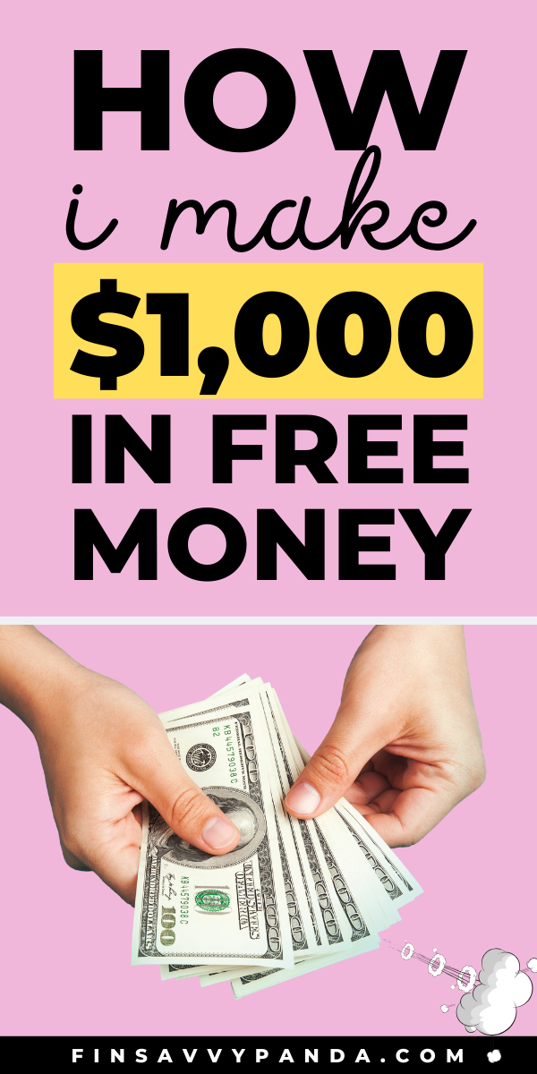 How To Get Free Money Now and Fast (Get 1,000 to 5,000