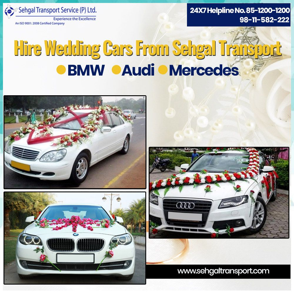 Wedding Cars On Rent In Delhi Wedding Car Hire Wedding Car Car Rental
