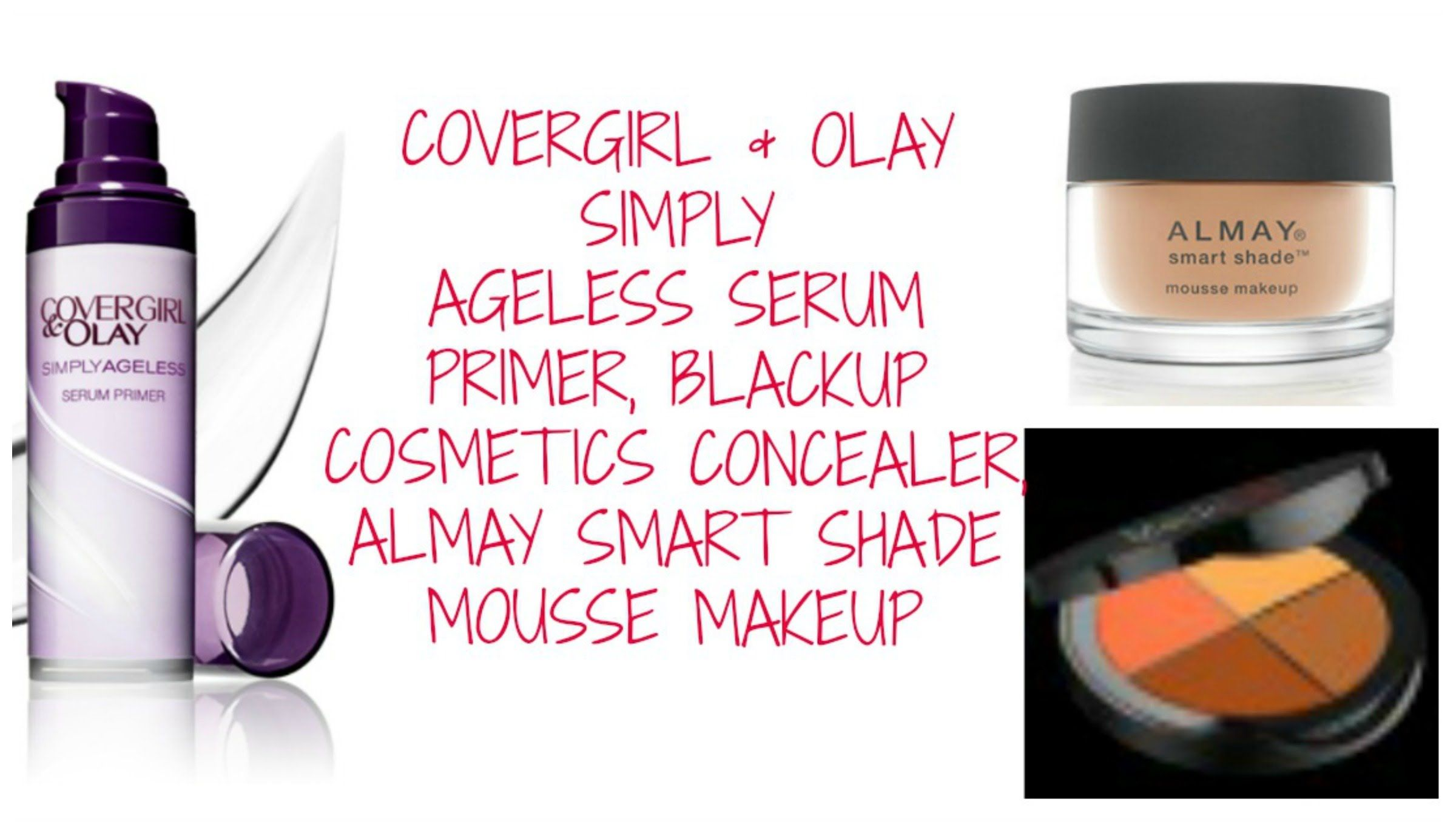 COVERGIRL + OLAY SIMPLY AGELESS SERUM PRIMER, BLACKUP