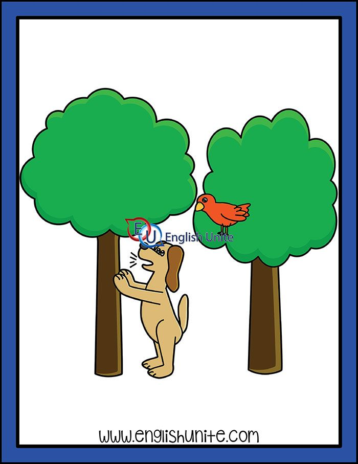 Idiom Barking up the wrong tree Art, Idioms, Clip art