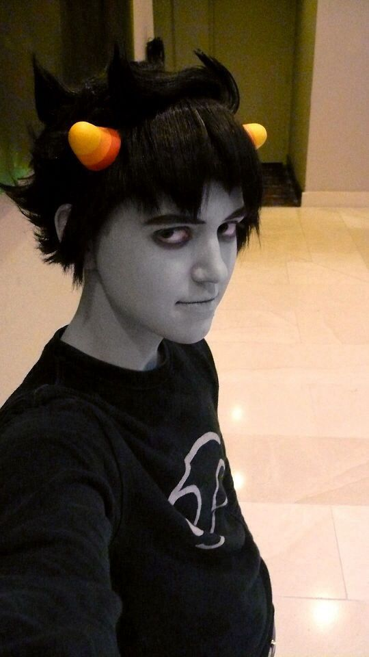 this is one of my all time favorite karkat cosplays there tumblr
