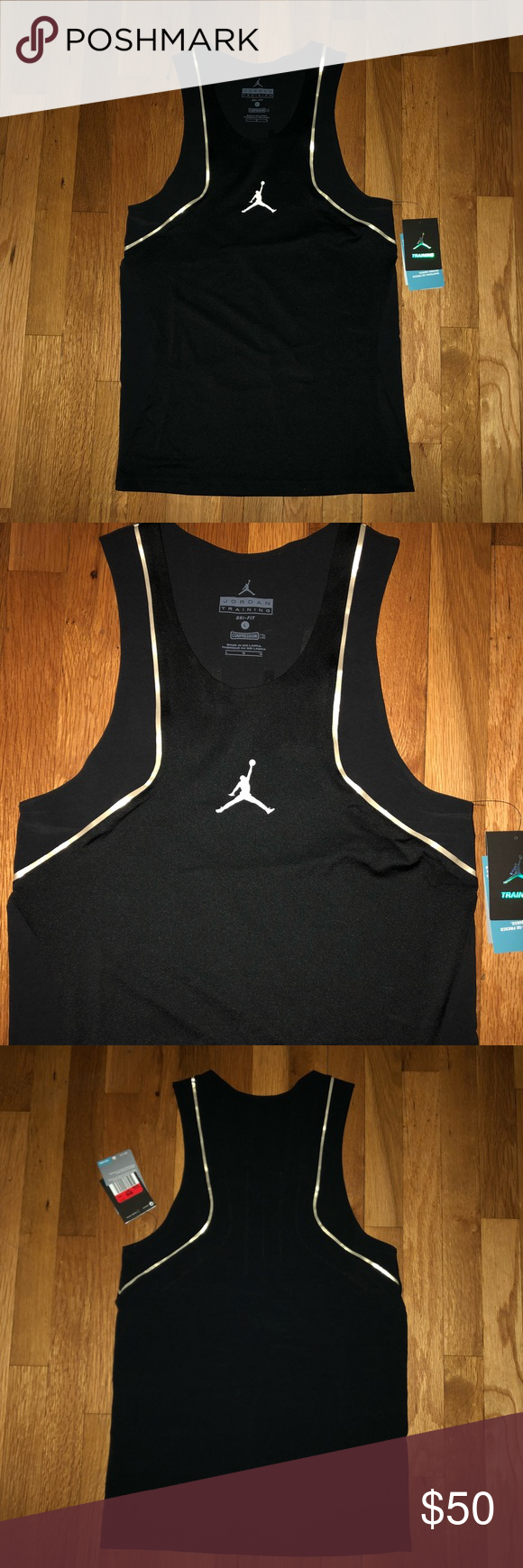 e8bd96a1d2bd MENS JORDAN ULTIMATE FLIGHT COMPRESSION TANK TOP BRAND NEW WITH TAGS  VENTILATED LOCKDOWN  The Jordan