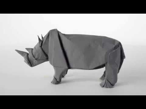 Origami Rhino By Sipho Mabona Origami Pinterest Origami