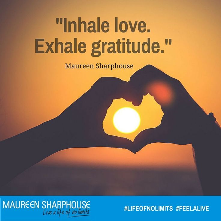 Thankfulness is key.  Visit MaureenSharphouse.com for a free guided meditation to help you develop focus and calm at http://bit.ly/1qHdOkx  #gratitude #thankfulness
