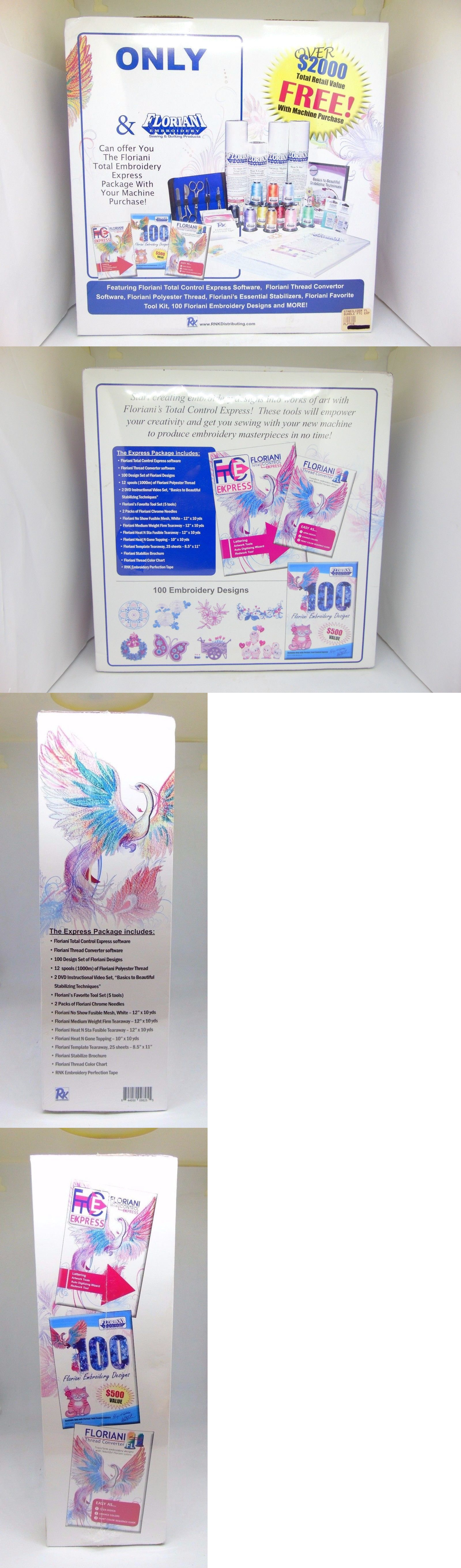 Digitizing Software 71197 Floriani Total Embroidery Express