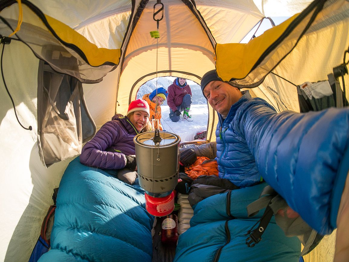 Tents & Winter came around so fast again! Have you tried winter camping ...