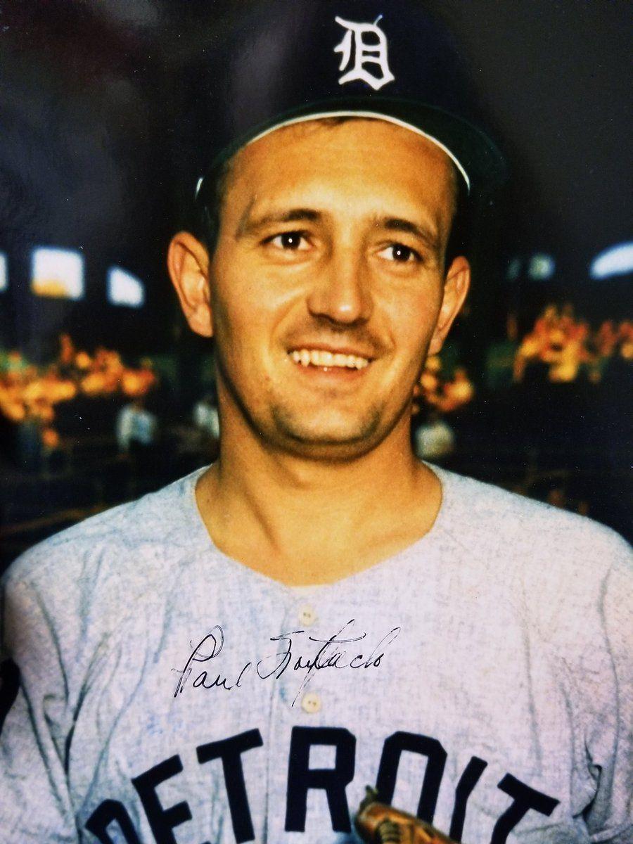 Paul Foytack Baseball memorabilia, Baseball, New york mets