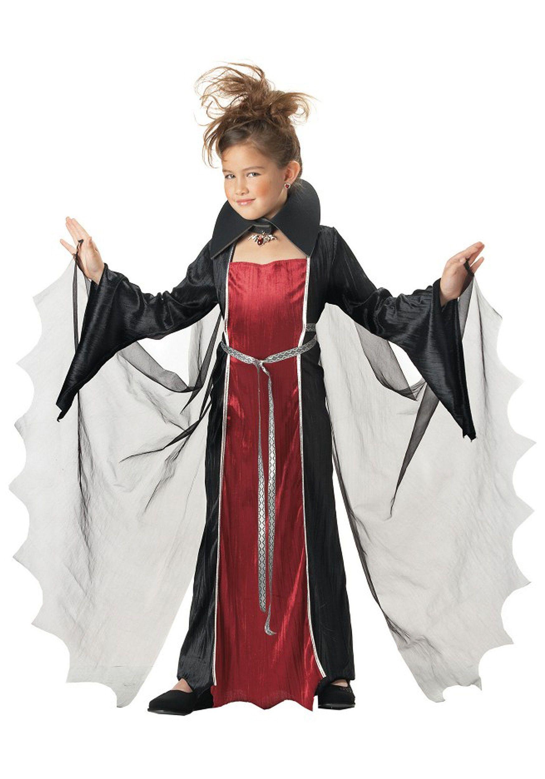 Girls Vampire Costume | Girls vampire costume, Vampire costumes ...