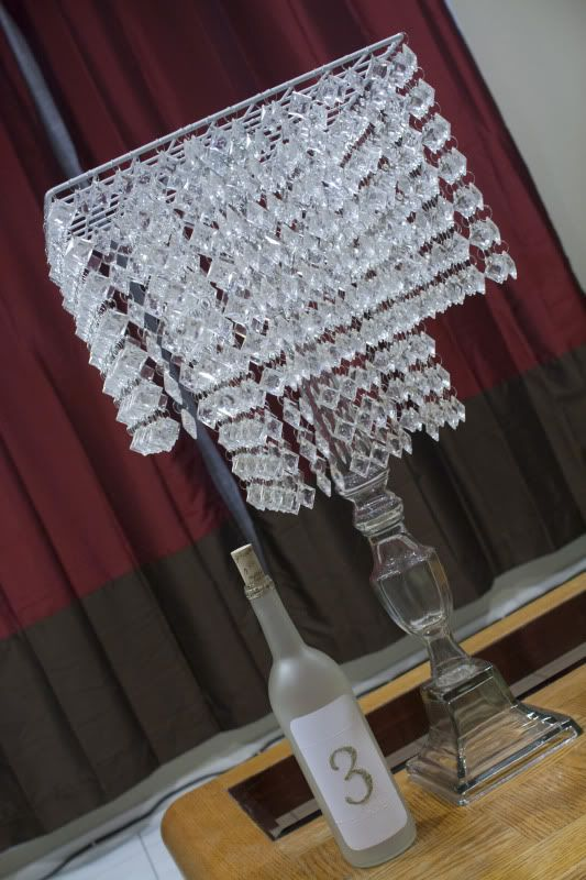 My Diy Chandelier Centerpiece Project Wedding Forums
