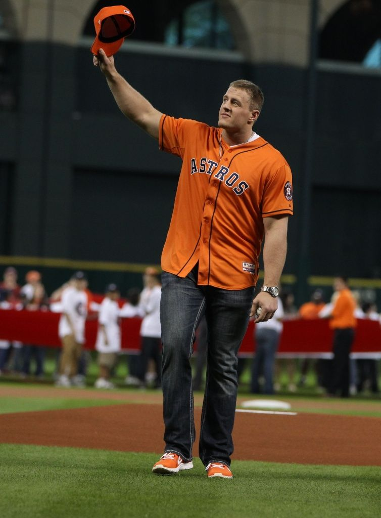 Throwing out the first pitch. Houston astros baseball