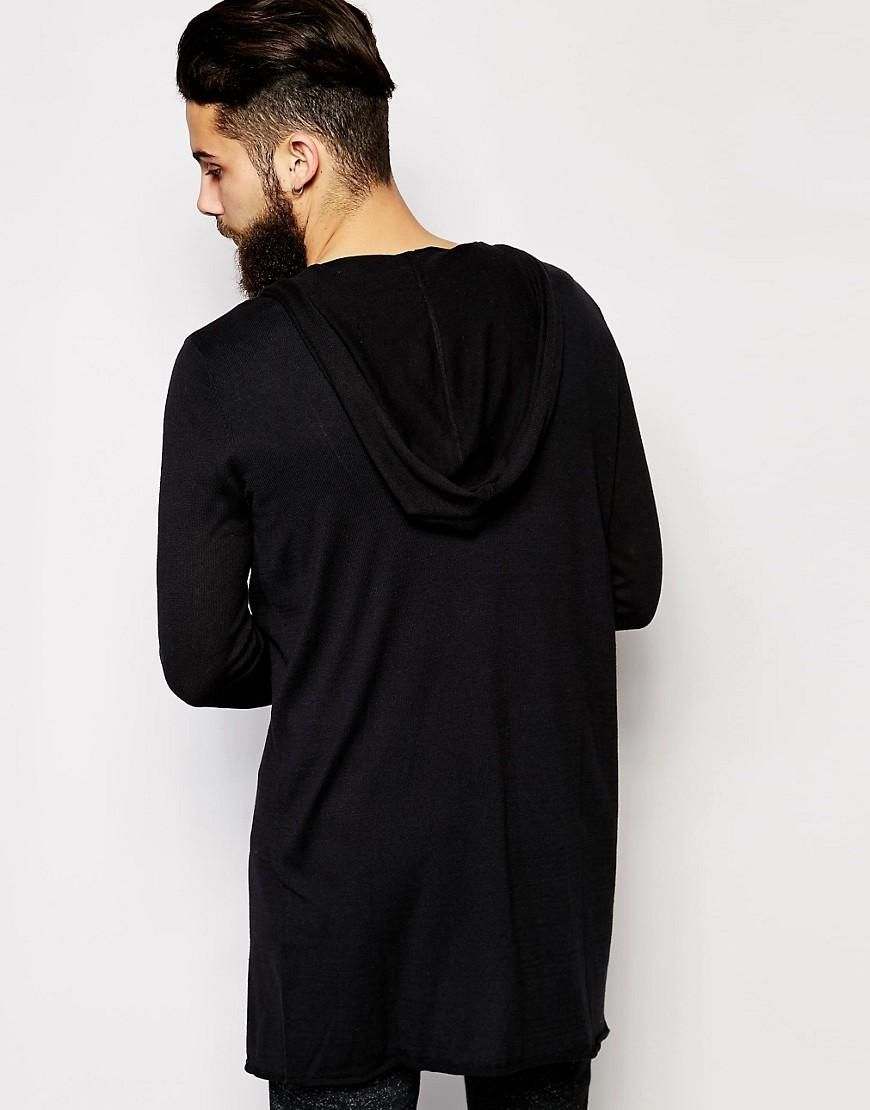 ASOS | ASOS Super Longline Hooded Cardigan at ASOS | Cárdigan ...