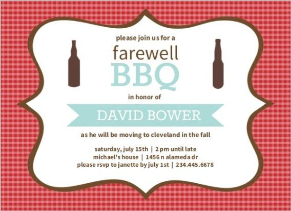 Party Farewell Party Invitation Is Amplifying Your Ideas Of