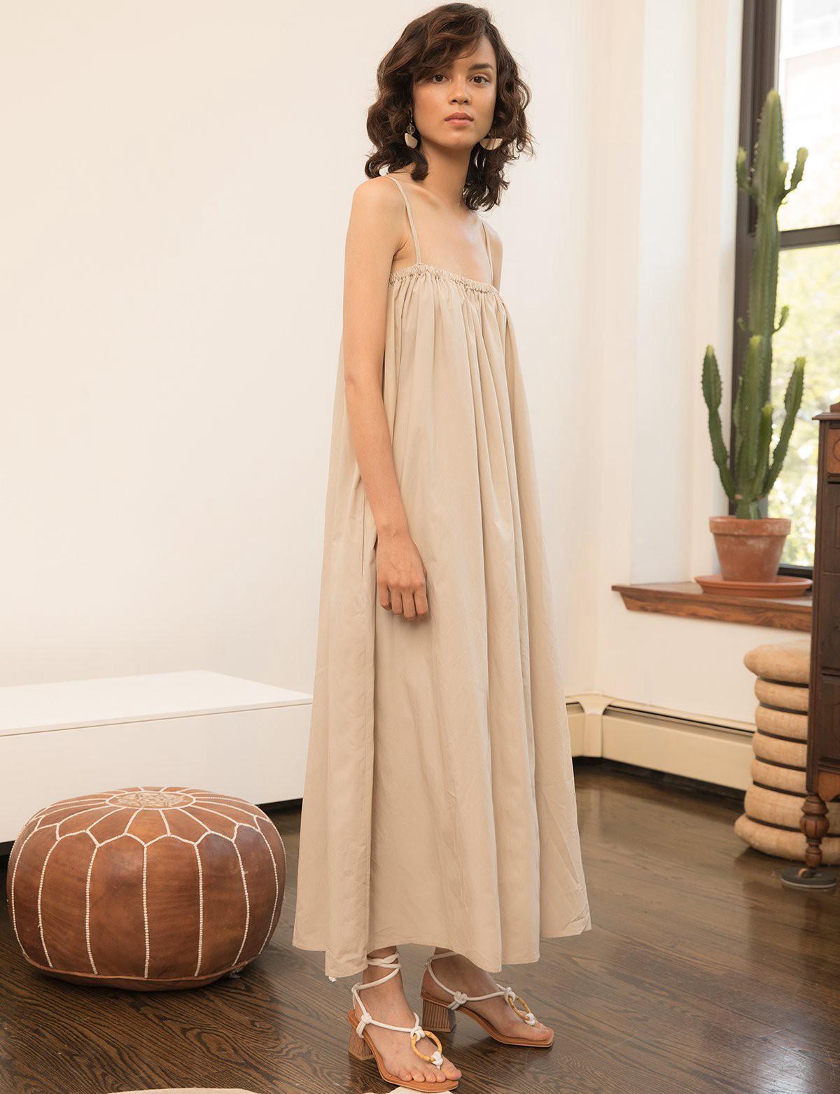 Pixie Market Tan Tank Maxi Dress One Size In 2020 Maxi Tank Dress Dresses Maxi Dress [ 1563 x 1200 Pixel ]