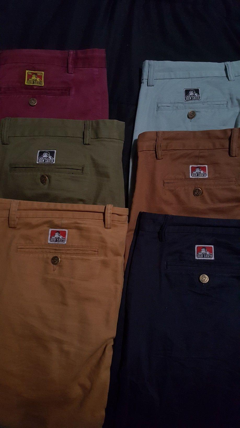 Custom Ben Davis Slim Fit Chinos Pants | Ben Davis | Slim